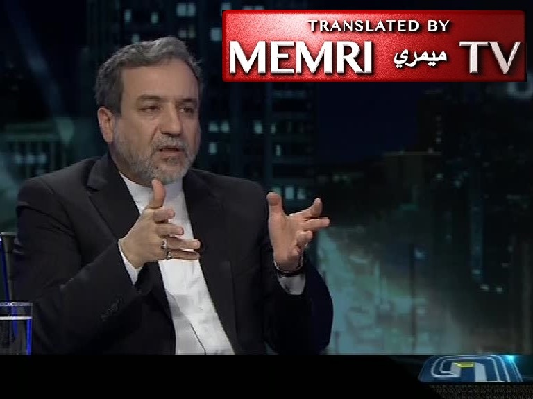Iranian Deputy FM Abbas Araghchi: If the U.S. Sanctions Continue, We May Have to Ask the Afghans Living in Iran to Leave